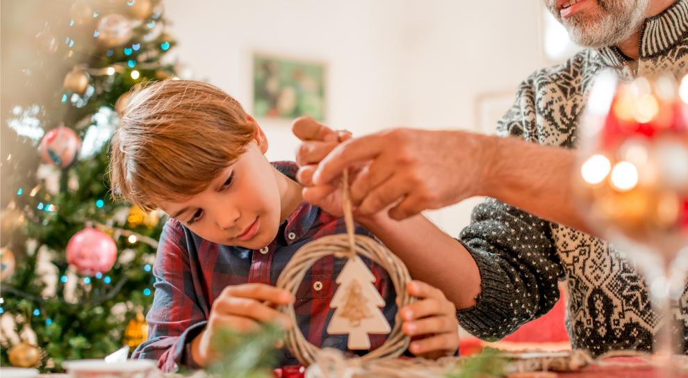 decorar la puerta de casa Navidad