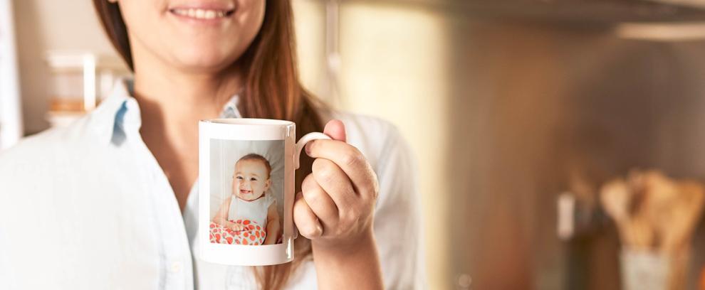 taza personalizada con fotos