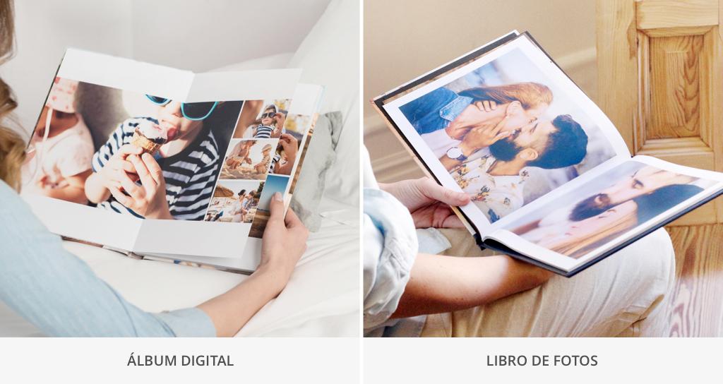 diferencia entre libro y album
