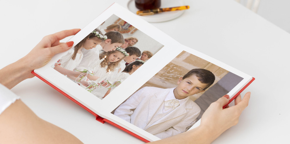 album de fotos comunion