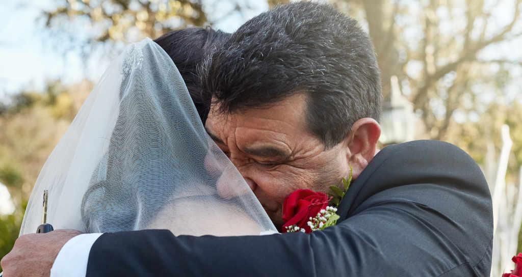 fotos emotivas de la boda