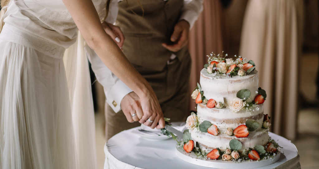 tarta de la boda