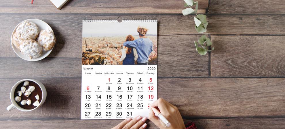 calendario - regalos san valentin