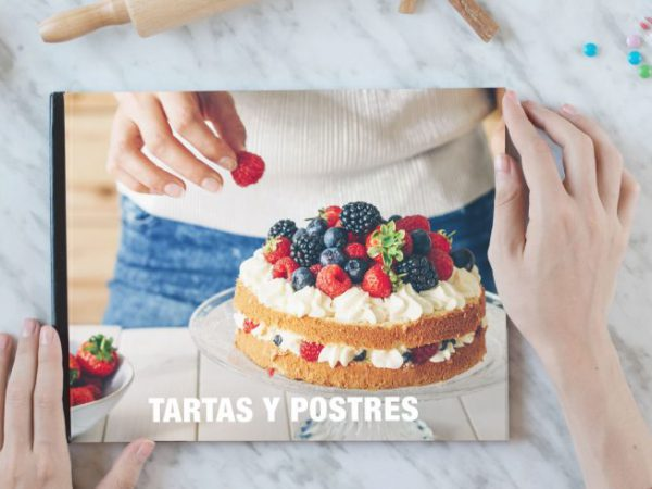 Crear libro de recetas