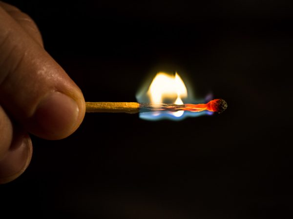 como hacer fotos casa fotografiar fuego
