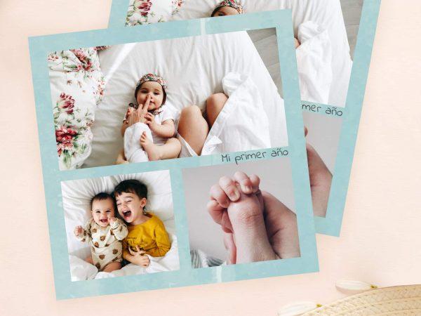 tarjeta para bebé recien nacido